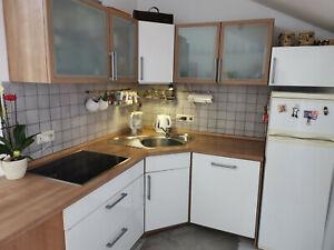 Einbauküche Küche komplett mit Elektrogeräten Hochglanz!!!