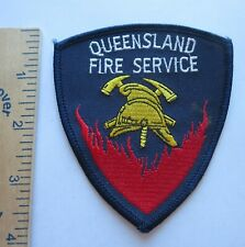 QUEENSLAND AUSTRALIA FIRE SERVICE PATCH Vintage Original