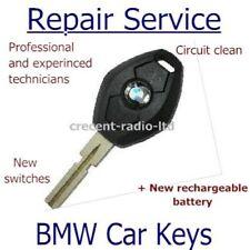 BMW E46 E39 E38 3 5 7 Z3 M3 M5 REMOTE KEY FOB FULL REPAIR SERVICE with battery