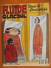 FLUIDE GLACIAL N° 141 du 03/1988. Umour et Bandessinées éditions Audie