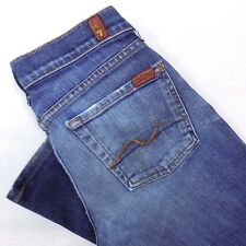 7 For All Mankind Jeans Size 27 Women's Bootcut Sz 27/29