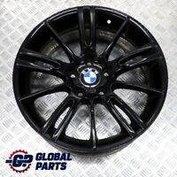 "BMW 3 Series E90 E91 E92 Black Front Alloy Wheel Rim 18"" 8J M Spider Spoke 193"