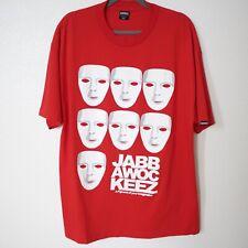 JABBAWOCKEEZ Red Short Sleeve T-Shirt, Size XL