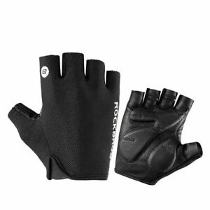 ROCKBROS MTB Half Finger Bike Gloves Shockproof Breathable Gloves