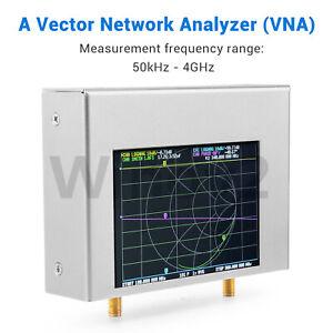50kHz-4GHz NanoVNA V2 Plus4 Vector Network Analyzer 4 Inch Shortwave Nvarcher
