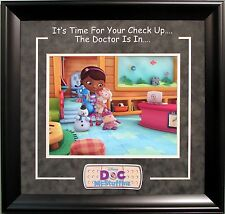 Doc McStuffins 11x14 Photo Collage Framed Overall 22x23 In Size