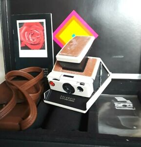 Vintage POLAROID SX-70 Land Camera With Box Case Accessories Not Tested