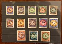 Bajar Port Repoeblik MNH complete set (13 stamps) - Indonesia