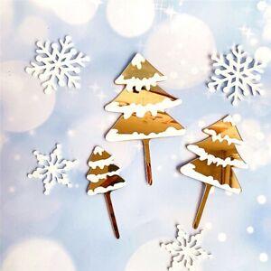 Merry Christmas Cake Topper DIY Xmas Tree Deer Birthday Party Baking Cake Decor