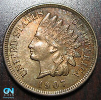 1907 Indian Head Cent Penny  --  MAKE US AN OFFER!  #P9698