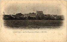CPA  Courville - La Tour Brigantine et l'Hospice  (385327)