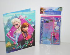 Disney Frozen Portfolio Folder & 7pc Sketchbook Set School Supplies New
