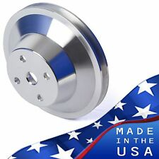 Big Block Chevy Water Pump Pulley 1 Groove 396 427 454 LWP BBC 1V LWP Aluminum