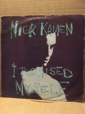 """NICK KAMEN 7"""" IN PICTURE SLEEVE - I PROMISED MYSELF / YOU ARE - WEA YZ454"""