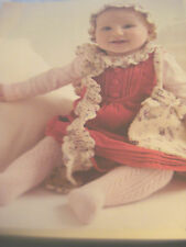 CROCHET PATTERN ~ BABY HEIRLOOM HAT SCARF AND BAG SET   ~ INSTRUCTIONS
