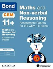 Bond 11+ Maths and Non-verbal Reasoning Assessment Papers for the... by Bond 11+