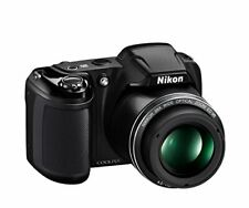 Nikon COOLPIX L340 20.2MP Digital Black Nikkor Camera