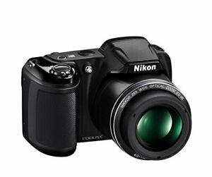 Nikon COOLPIX L340 20.2MP Digital Black Nikkor Camera