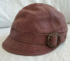 Merrell Womens Hemp Cotton Blend Page Cabbie Style Cap Hat One Size Fits Most