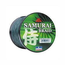 Daiwa SAMURAI Braid Fishing Line 30lb Test 150yds Green ~ New