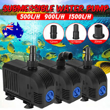 Mini Submersible Water Pump Pond Aquarium Fish Tank Fountain 500 900 1500 L/H