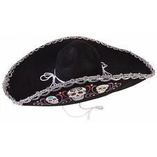 Day of The Dead Sombrero Costume Accessory Adult Cinco de Mayo