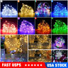 50/100/200 LED String Fairy Light With USB Remote For Halloween Xmas Party Decor