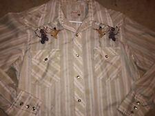 Rare Vintage 70s Wrangler BRUCE LEE Vs ROBOT Pearl Snap Western Shirt TV MOVIE