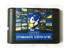 Sega Mega Drive Genesis MD Flash Card Cartridge 16-Bit Multicart w/ 820 Games