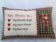 MY MUM MOTHER SENTIMENT CUSHION 'SPECIAL OFFER'MOTHERS DAY BIRTHDAY GIFT MOTHER