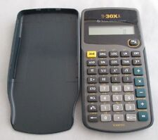 Texas Instruments TI-30XA Calculadora Científica Modelo Retro