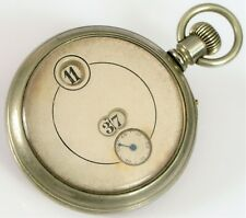 ANTIQUE IWC INTERNATIONAL WATCH CO PALLWEBER JUMP HOUR POCKET WATCH DIRECT READ