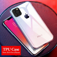 for iPhone 11 Pro Max X Transparent Case Slim Clear Gel TPU Rubber Cover
