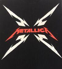 Metallica Large Star T Shirt Black