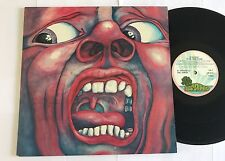 King Crimson 'In The Court Of the Crimson king Pink Rim Palm Tree Nice Copy!!!