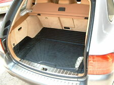 Porsche Cayenne tough anti slip rubber dog mat boot liner spill tray BEIGE