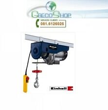 Paranco/Argano/Montacarico/Montacarichi elettrico 250/500Kg Einhell - BT-EH 500