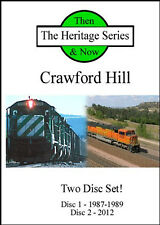 Railroad DVD: Crawford Hill - 1980s BN and 2012 BNSF Double Disc Set