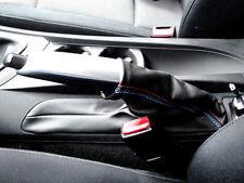 Cuffia leva freno BMW serie 1 e87 Vera pelle nera Cuciture Msport made in Italy