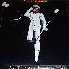 Lp - Andrew Gold - All This and Heaven Too (Asylum 6E-116) Shrink