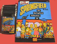 Panini Simpsons 4 Springfield - 50 Tüten + Leeralbum - 250 Sticker Album