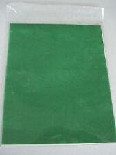 Samttransfer grün 25 x 20 cm für fast alle Materialien Set 8 Stck.