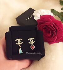 NEW & AUTHENTIC Chanel Stud Earrings SS17 Collection