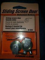"""Prime ~ Line Sliding Screen Door Tension Roller,  B-639, 2 Pk. 1"""" Steel Wheel"""