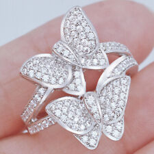 2.3Ct Alloy Simulated Diamond Engagement Ring RR175-1