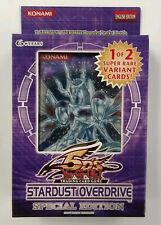 Yugioh 5Ds Stardust Overdrive Special Edition Factory Sealed Box 2009 Super Rare