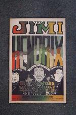 Jimi Hendrix Tour Poster 1968 Sacramento State College
