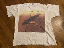 Vintage 1990 Led Zeppelin T-Shirt Crop Circles Promo Size L Tour Plant Page