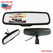 "4.3"" TFT LCD Mirror Screen Monitor For Car Rear View Backup Camera Universal"