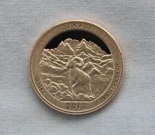 2012-S Denali Clad Proof ATB Quarter Cameo